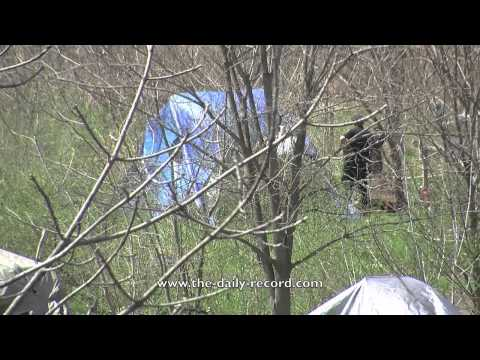 Tent City (Wooster, Ohio) Eviction Begins