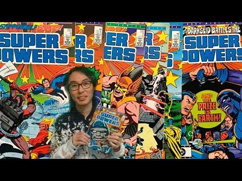 【黃獎漫畫評論】正義聯盟 vs Darkseid:SuperPowers 1985