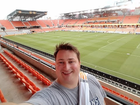 HOUSTON DYNAMO GAME BBVA COMPASS STADIUM