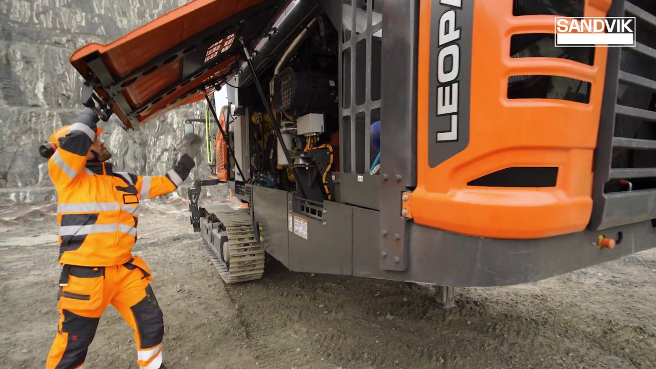 New Leopard™ DI650i – Serviceability Taken to the Next Level | Sandvik Mining and Rock Technology