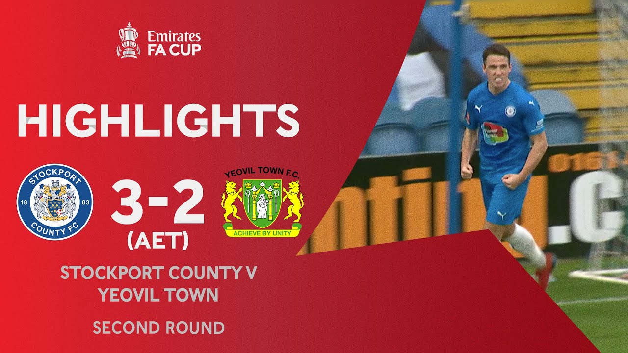 Stockport Grab Extra-Time Winner! | Stockport County 3-2 Yeovil Town (AET) | Emirates FA Cup 2020-21