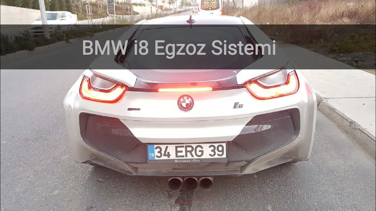 Turkiyede Bir Ilk Bmw I8 Egzoz Sistemi Emil Exhaust Youtube