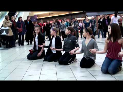 Vancouver Flash Mob, Park Royal Mall