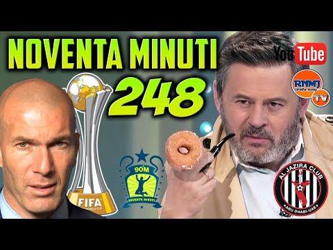 90 MINUTI 248 COMPLETO semifinal Al Jazira 1-2 Real Madrid (13/12/2017)