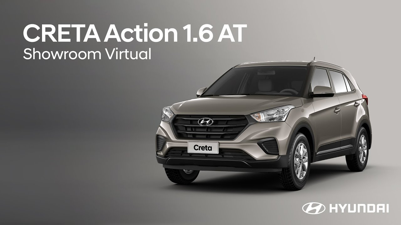Hyundai CRETA Action 1.6 AT | Showroom Virtual Hyundai