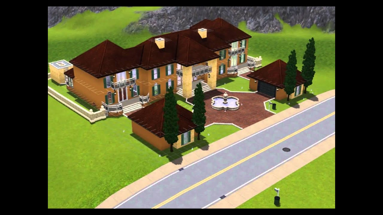 Sims 3 Construction Design Ideas! (HQ) - YouTube