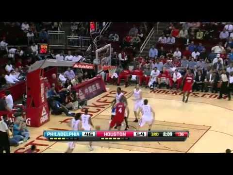 NBA 76ers Vs Rockets Highlights