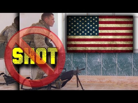 United States Marine Shot By Sniper - Fights Back Against Odds - True Story of U.S Warrior