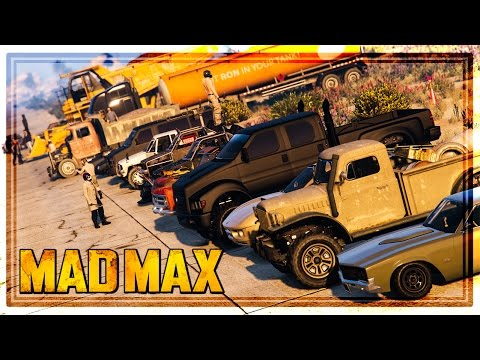 GTA 5 'MAD MAX' THEMED CAR & FASHION SHOW! (PS4, Xbox One & PC)