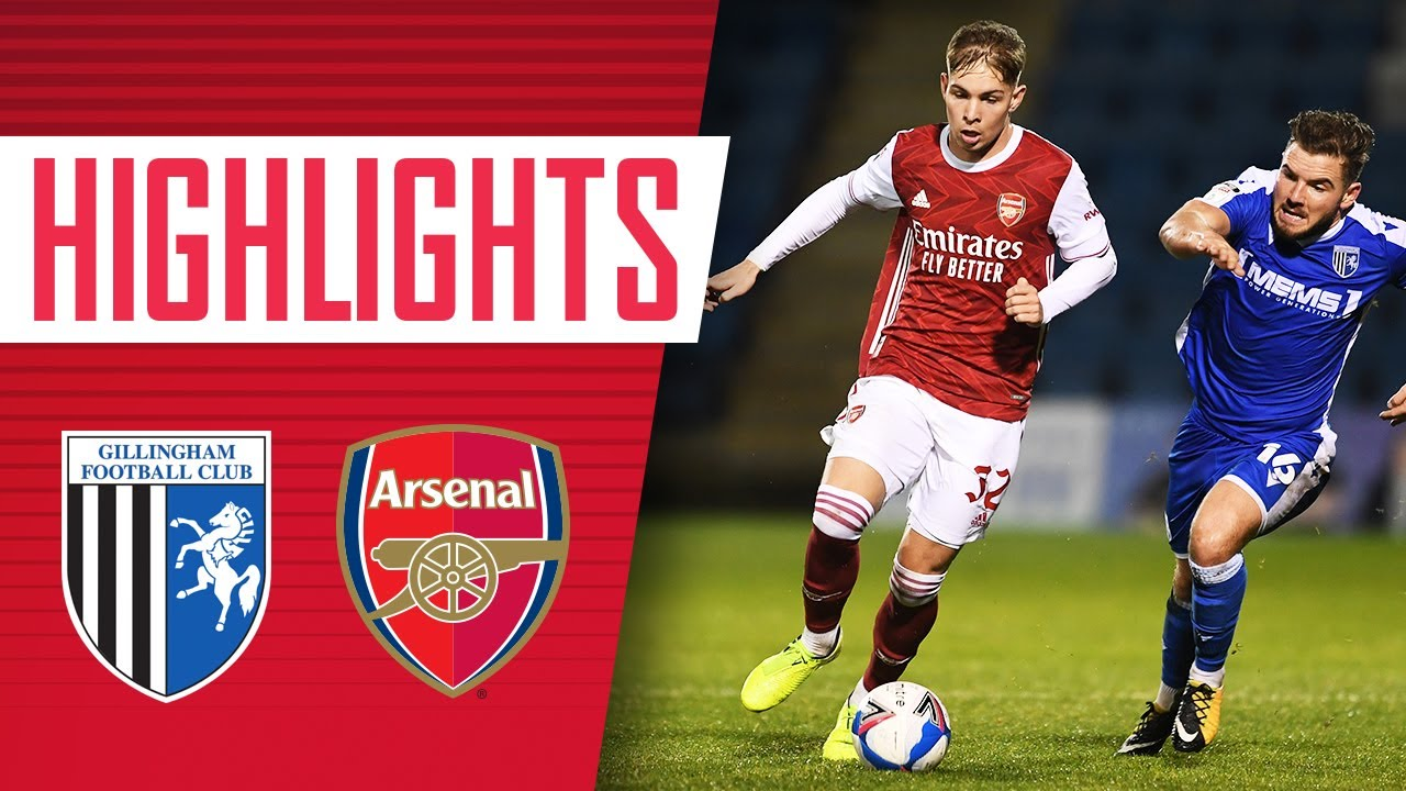HIGHLIGHTS | Gillingham vs Arsenal U21 (2-4 on penalties) | Papa Johns Trophy