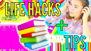 Life Hacks For Back To School!