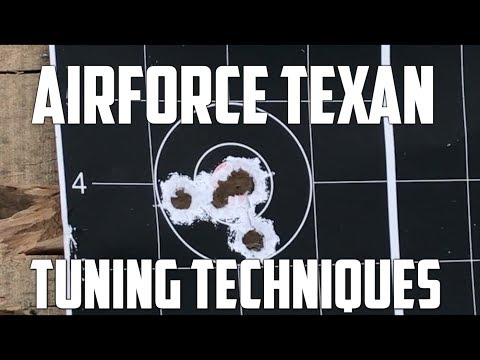 AirForce Texan  Big Bore Airgun = Awesome Power! Barrel Tuning Tips with Hunters Supply