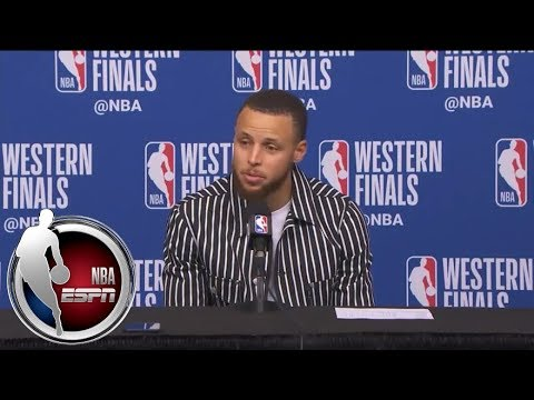[FULL] Stephen Curry responds to Chris Paul shimmying on him after big 3-pointer | NBA on ESPN