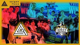 SAIGON FLAVOUR vs JOKER ROCK | FINAL |  REDBULL VIET NAM x HÚC TUNG THÁCH THỨC  | ALL STYLE 5 vs 5