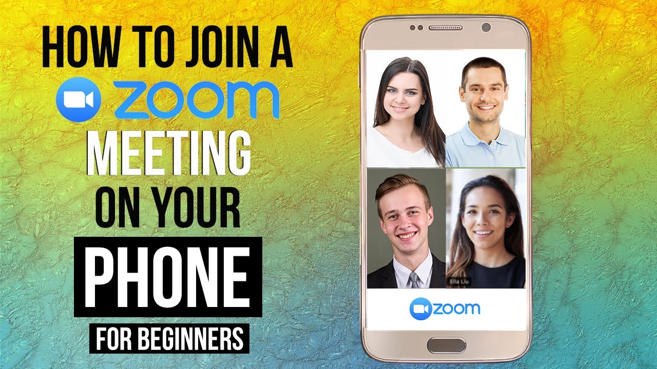 HOW TO JOIN A ZOOM MEETING ON YOUR PHONE  Attend Zoom Meetings On Mobile -  STEP BY STEP TUTORIAL