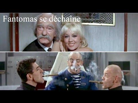 Fantômas se déchaîne 1965 -  Film réalisé par André Hunebelle, assisté de Jacques Besnard streaming vf
