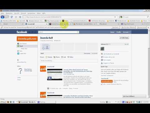 Joomla mit Facebook verbinden, Einsatz des Moduls ZFacebook