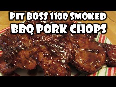 Pit Boss Smoked Pork Chops | Pit Boss 1100 BBQ Smoked Pork Chops