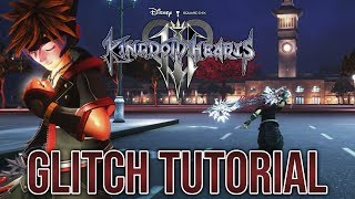 KINGDOM HEARTS III - Glitch Tutorial [Out of Bounds]