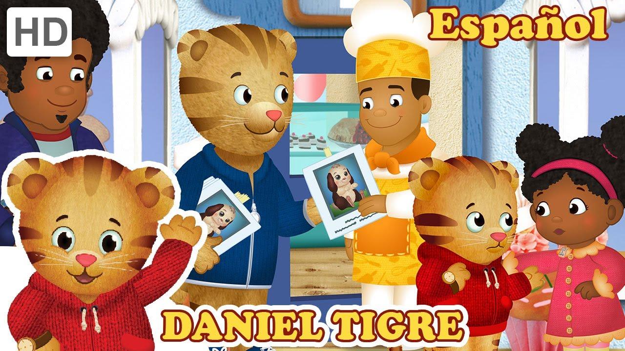 Daniel Tigre en Español - Buscando a Bola de Nieve y Los vecinos ayudan (Episodios Completos)