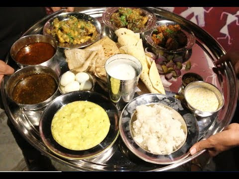 Biggest Non Veg Mutton Thali in World - Sarpanch Thali -Tatyancha Dhaba, Baner Aundh link Road, Pune