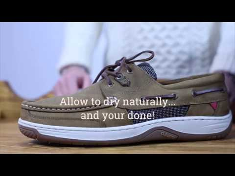 How to clean your Dubarry Regatta Deck Shoes