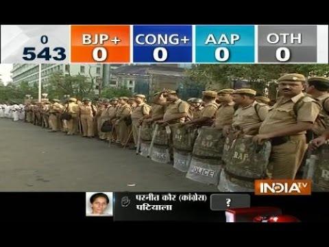 Lok Sabha Results: India TV visit senior leaders residence