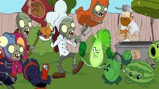 Plants vs. zombies ANIMATION Food Fight (Cartoon)