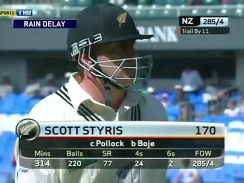 **NZ GOLD** Scott Styris 170 vs South Africa 2nd Test 2004