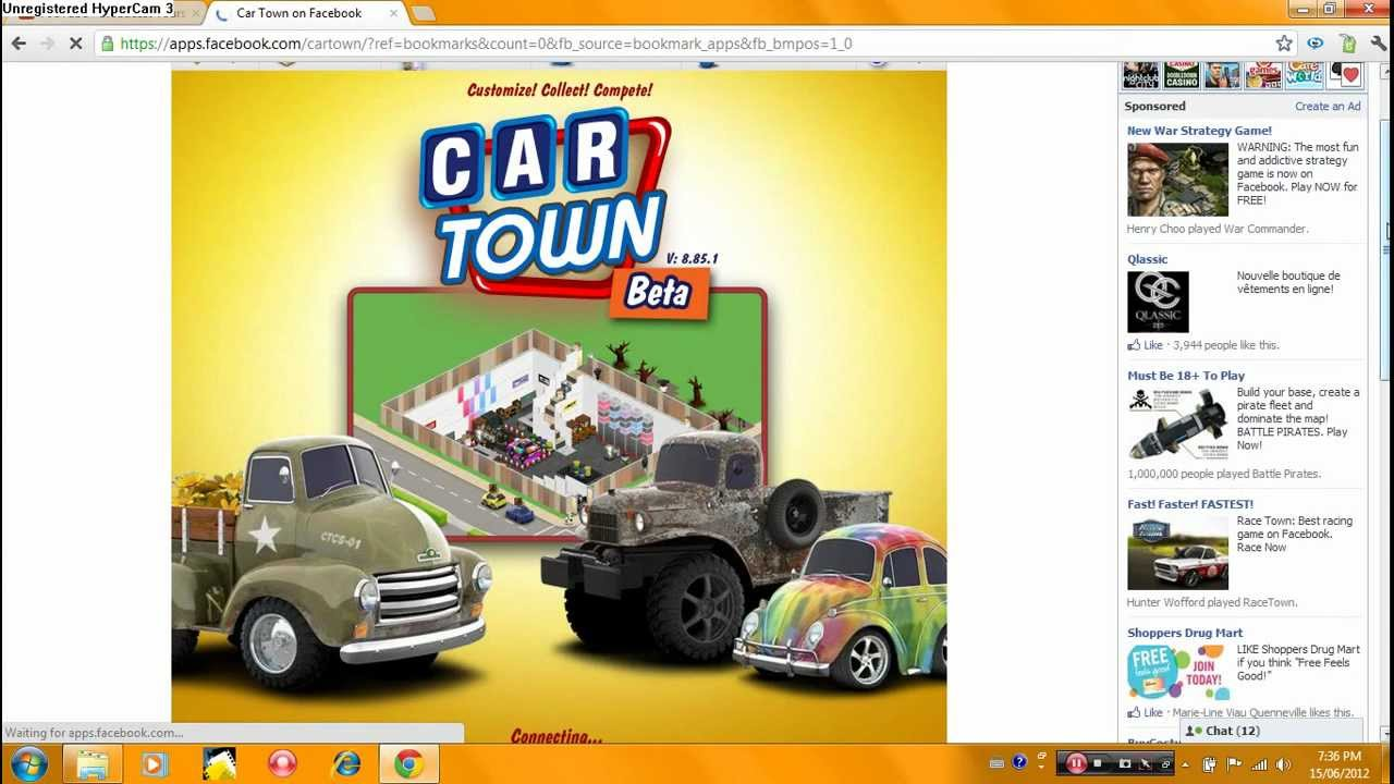 Car Town On Facebook