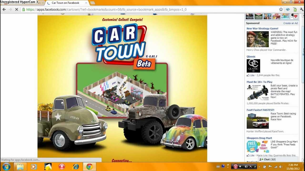 Car Town On Facebook Youtube