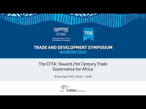 TDS LIVE | The CFTA: Toward 21st Century Trade Governance for Africa