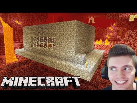 Minecraft: A MELHOR CASA do NETHER!!! - Sobrevivendo com Lipão #33