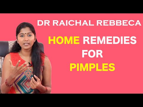 Simple Ways To Get Rid Of Pimples - Dr Raichal's Simple Home Remedies   We Magazine Health