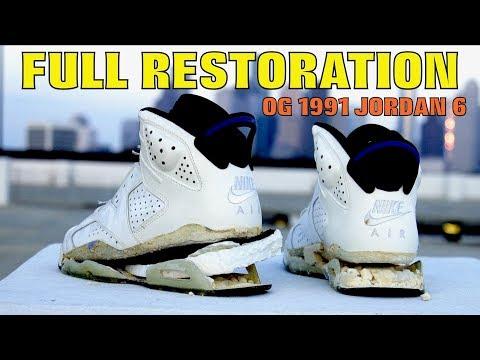 OG 1991 JORDAN SPORT BLUE 6 FULL RESTORATION!!