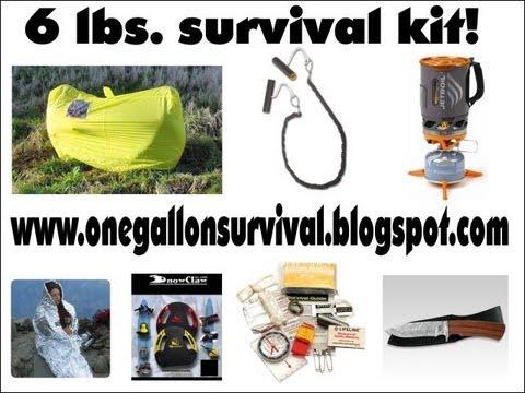 Aviation Survival Kit by www.onegallonsurvival.blogspot.com