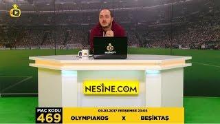 9 Mart 2017 Olympiakos X Beşiktaş Maçı [TEK MAç] +4 Tahmin  #NesineTV