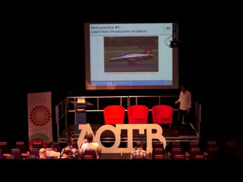 Smoothing the continuous delivery path- a tale of two architectures - Agile on the Beach 2016