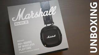 Marshall Major 4 On-Ear Bluetooth Headphones Unboxing