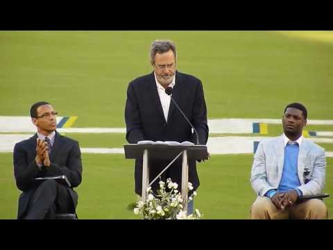 A Celebration of Life for Junior Seau with Charger Great Dan Fouts