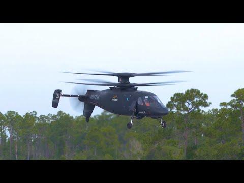 U.S. Army Pilot Flies S-97 RAIDER