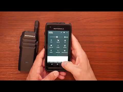 Quick Demo : Motorola LEX L11 Running WAVE OnCloud