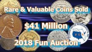 Rare USA Coins Sell for Millions at 2018 FUN Coin Show