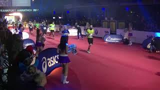 Finish Frankfurt Marathon 2017