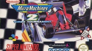SNES Micro Machines 2: Turbo Tournament Video Walkthrough