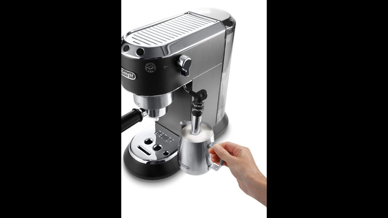 DeLonghi Cappuccino Maker reviews: EC685.B DEDICA 15-Bar ...