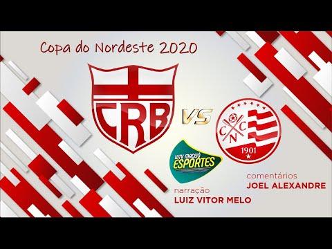 AO VIVO | CRB X  NÁUTICO - COPA DO NORDESTE 2020 04/03/2020