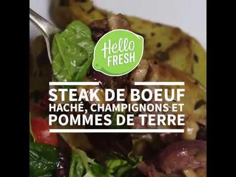 steak-de-bœuf-haché,-champignons-et-pommes-de-terre-|-hellofresh