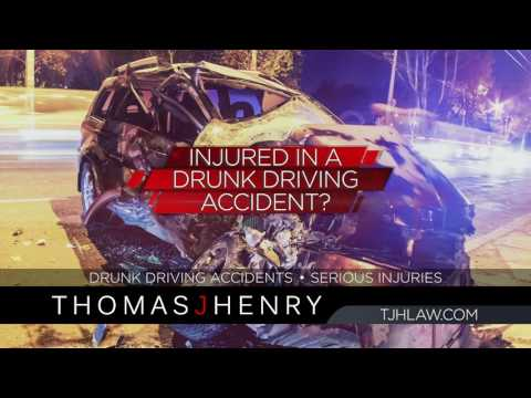 Hit by a Drunk Driver? Call Thomas J. Henry Injury Attorneys