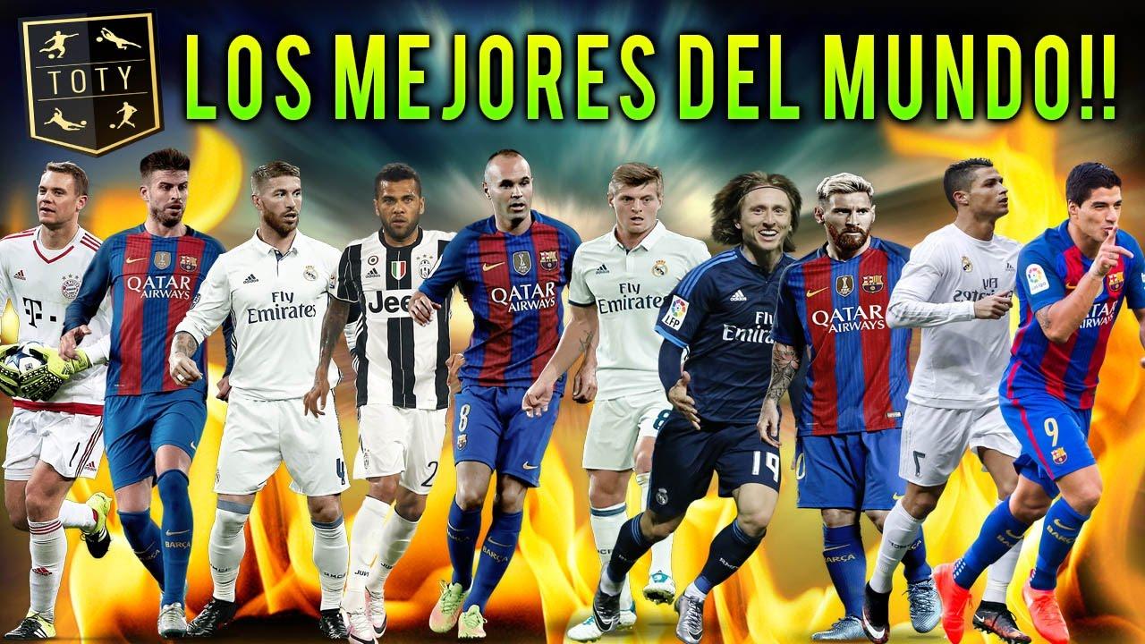 Los mejores jugadores del mundo totys 16 17 fc vs - Los mejores sofas del mundo ...
